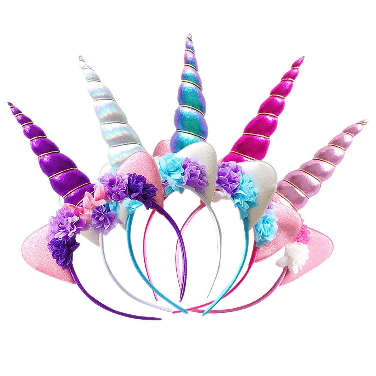 Cuernos y Diademas de Unicornio